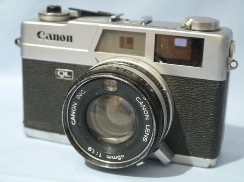 Canon Canonet QL19 Rangefinder Camera c/w 45mm 1.9 Lens £19.99